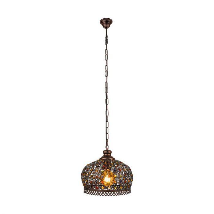 Ahlam hanglamp - Koperkleurig