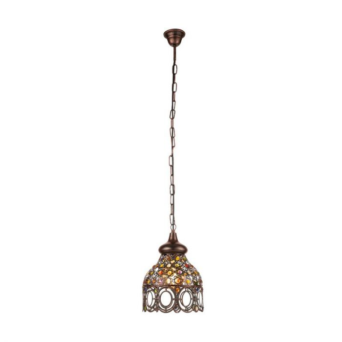 Ahmad hanglamp - Koperkleurig