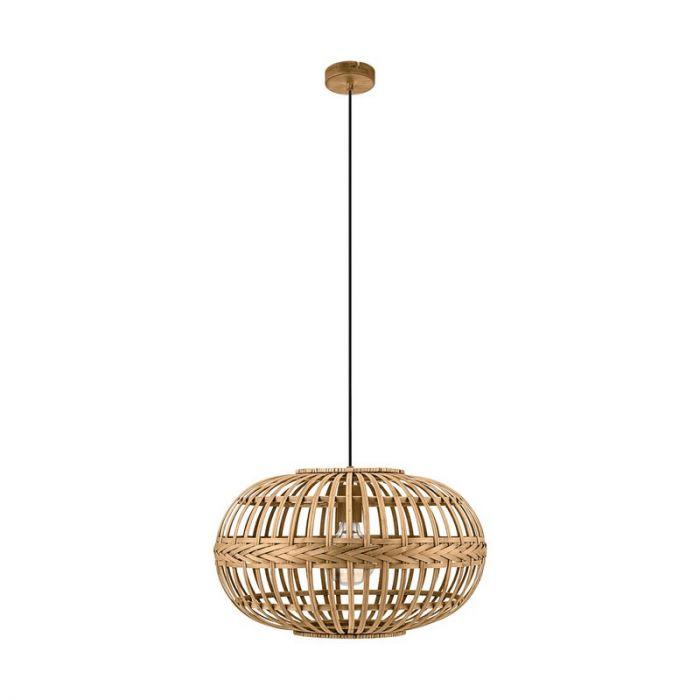 Ahsen hanglamp - Bruin
