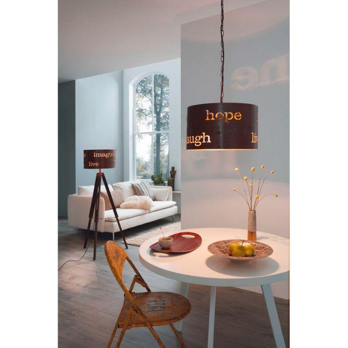 Aimee vloerlamp - Roestkleurig