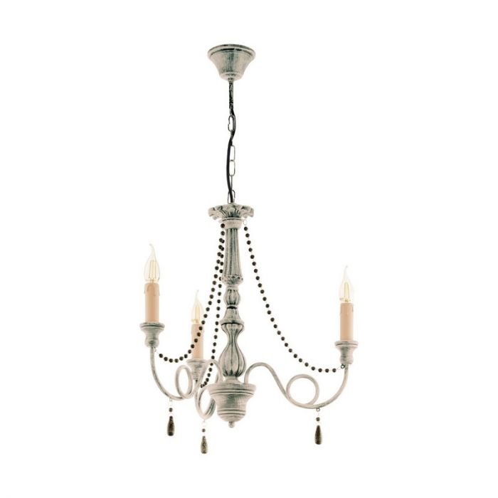 Ajla hanglamp - Taupe-Antique