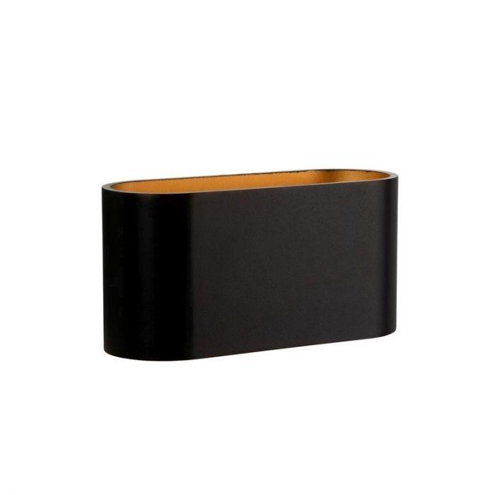 Moderne Dalila wandlamp, zwart
