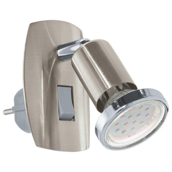 Aleida wandlamp - Nikkel-Mat Chroom