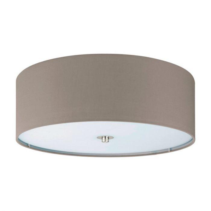 Alysia plafondlamp - Nikkel-Mat