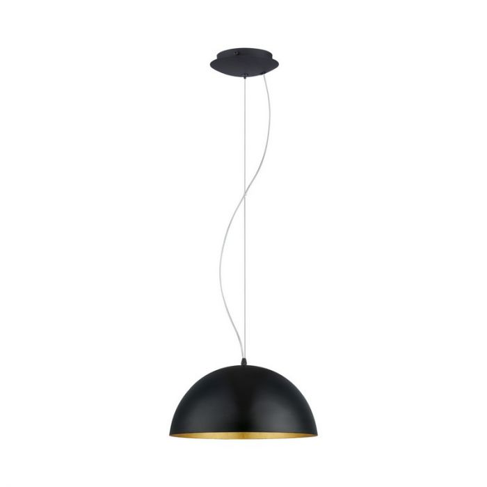 Aman hanglamp - Zwart Goud