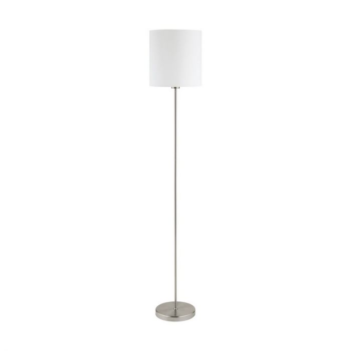 Angelos vloerlamp - Nikkel-Mat