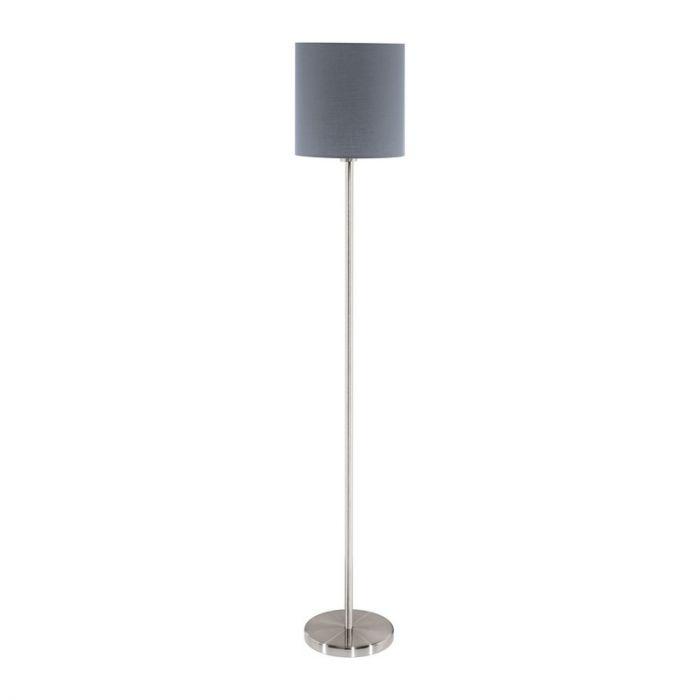 Angie vloerlamp - Nikkel-Mat
