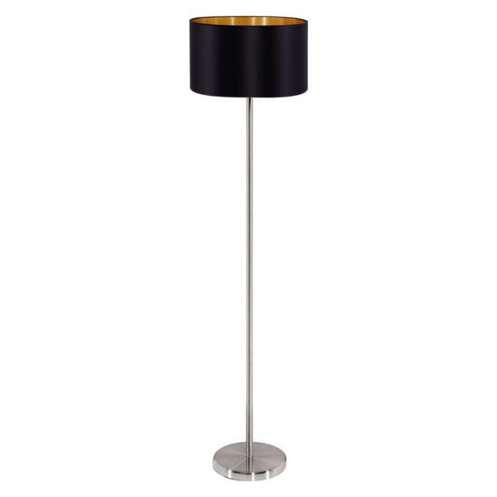 Angela vloerlamp - Nikkel-Mat