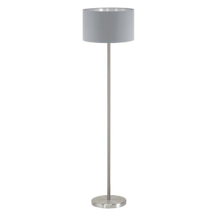 Anh vloerlamp - Nikkel-Mat