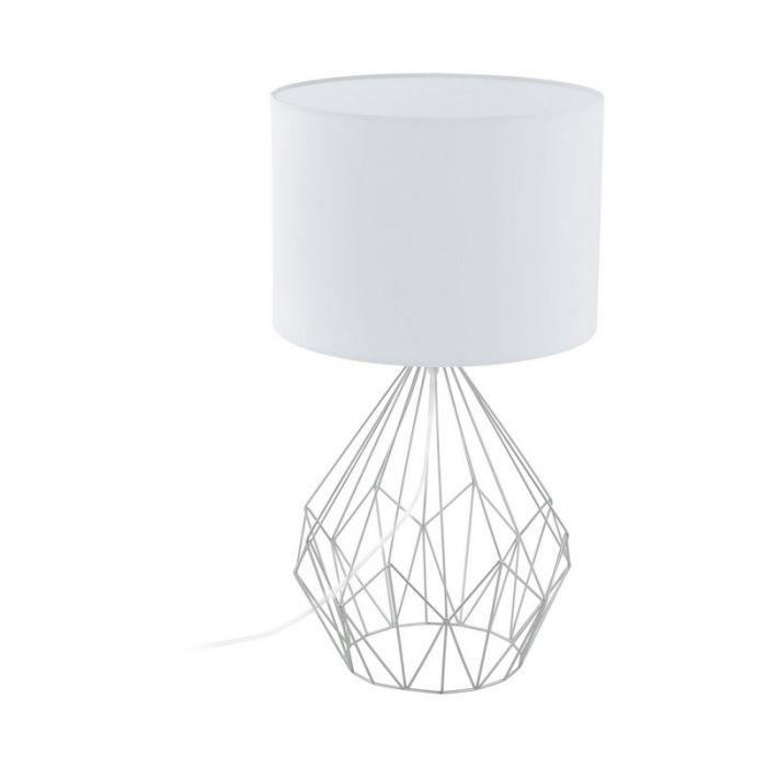 Anika tafellamp - Chroom