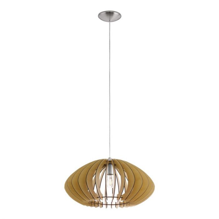 Anna hanglamp - Nikkel-Mat
