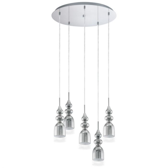Aradhana hanglamp - Chroom