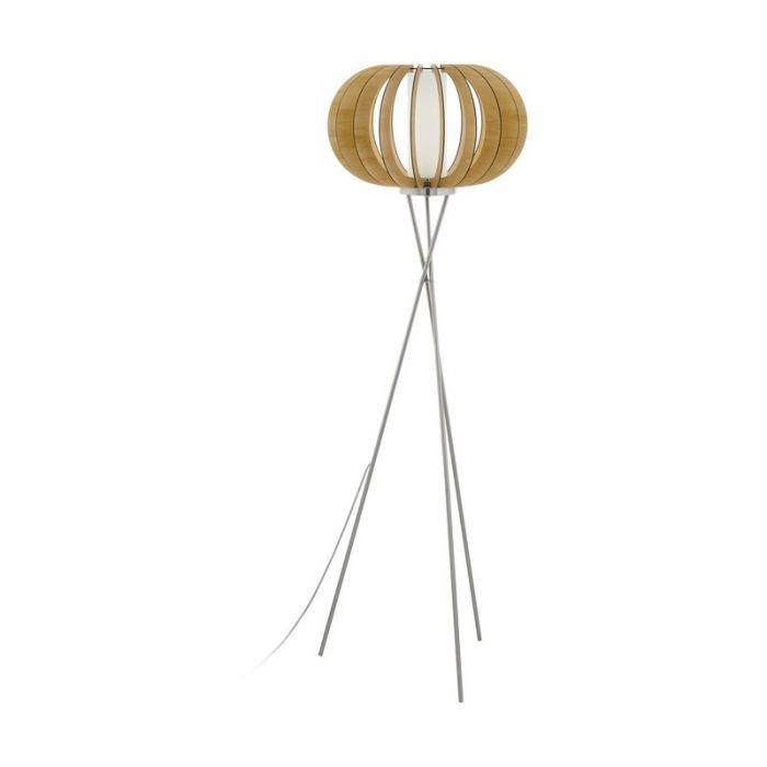 Ari vloerlamp - Nikkel-Mat