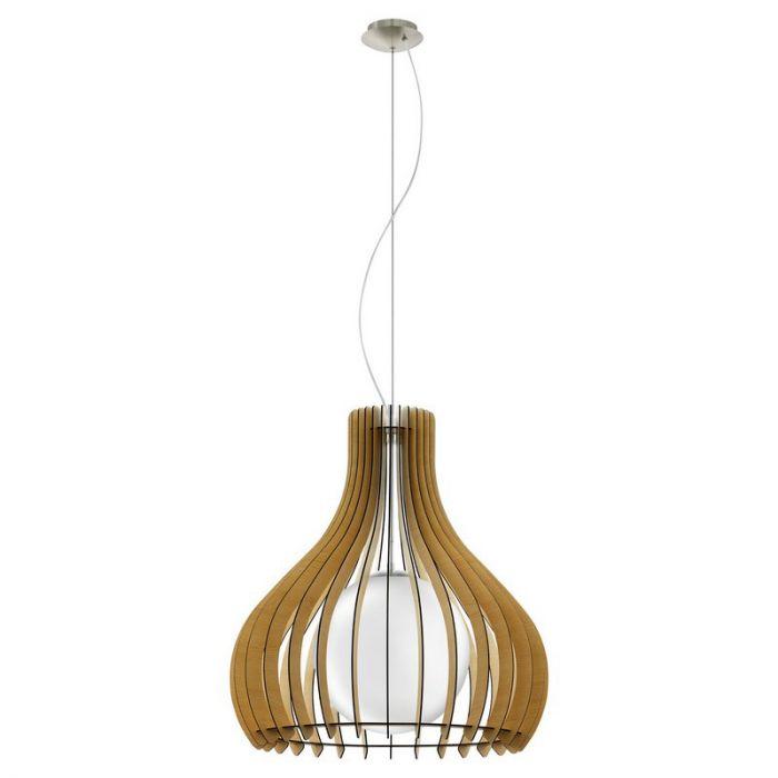 Bettine hanglamp - Nikkel-Mat