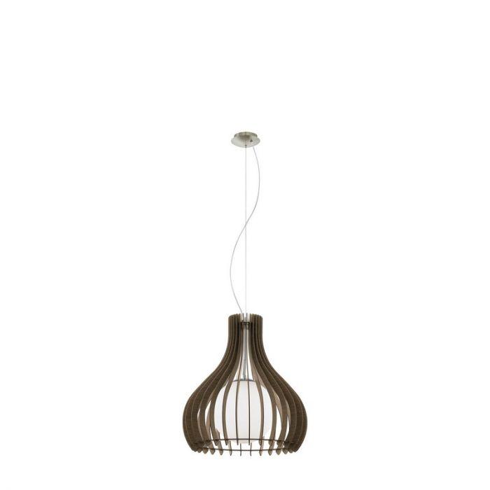Betul hanglamp - Nikkel-Mat