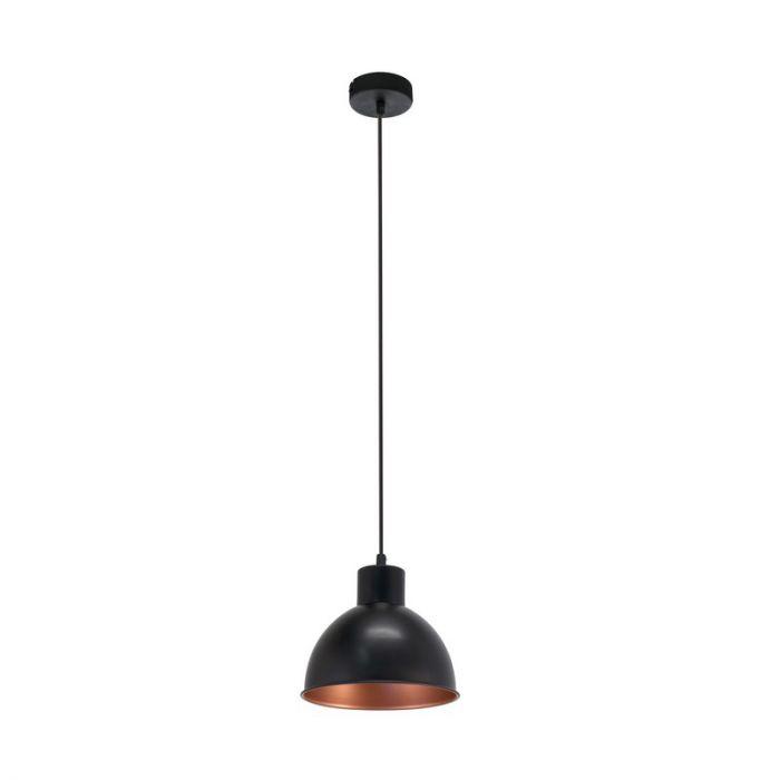 Zwarte hanglamp Picena Zwart Koper