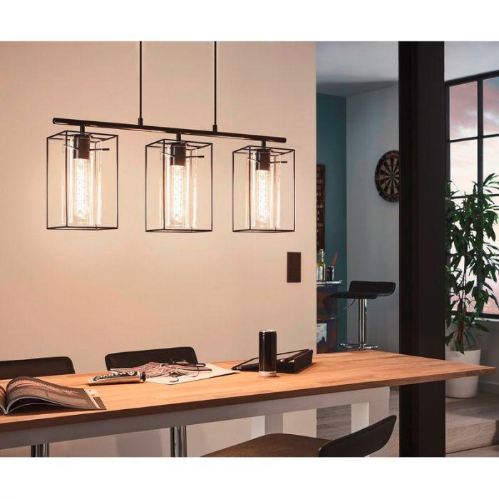 Moderne industrie hanglamp Aprica Eettafel