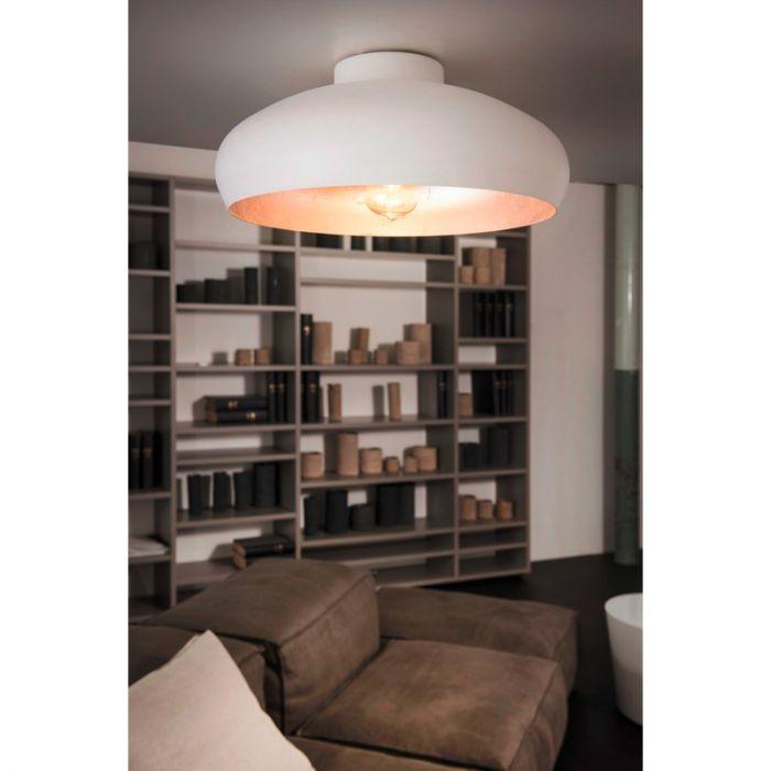 Moderne Design Witte Zilveren plafonniere Danica