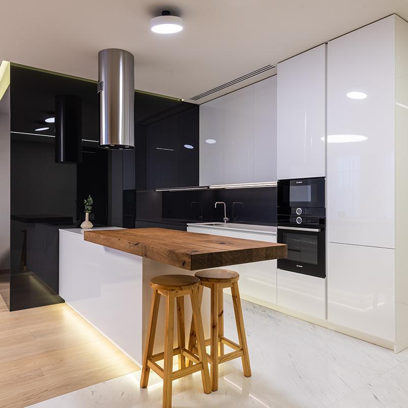 Plafonnières keuken