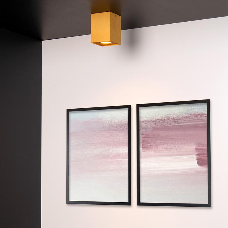 Gouden plafondverlichting