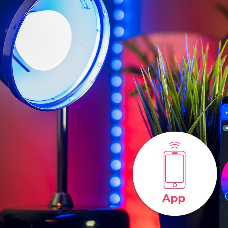 Slimme filament lampen (wifi)