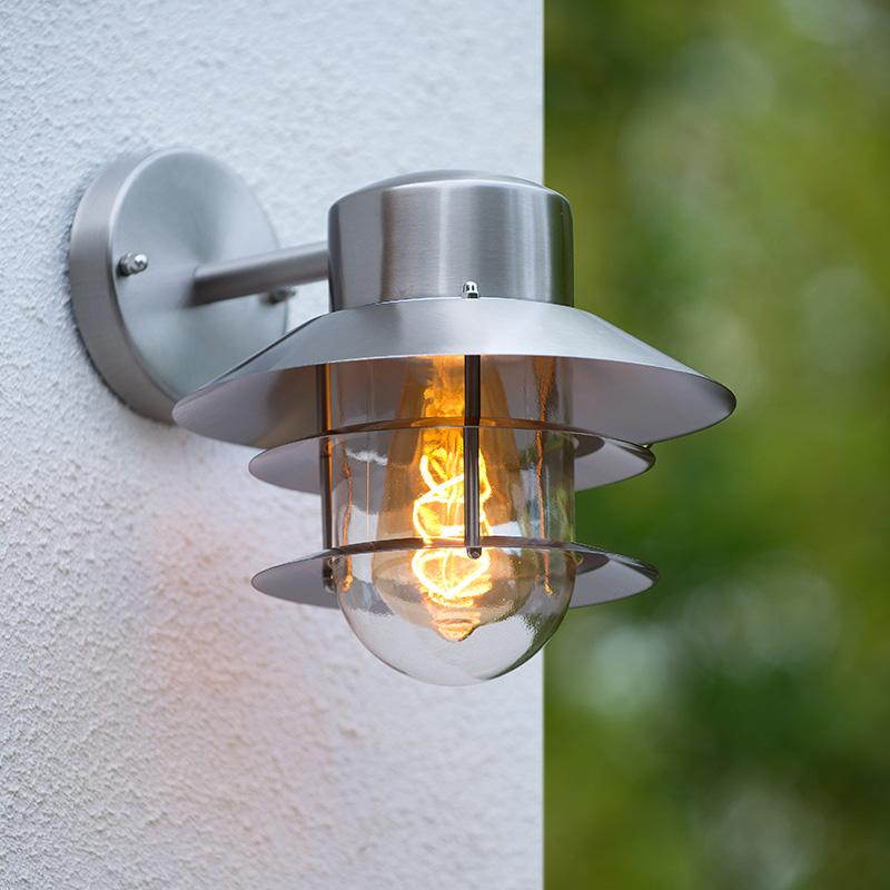Buiten wandlampen