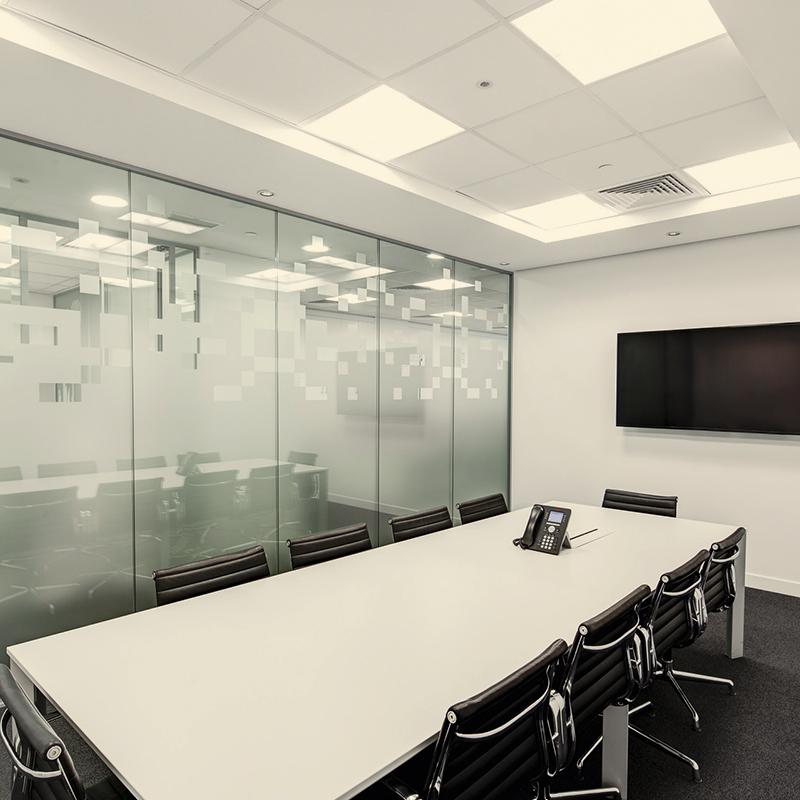 Warm witte LED panelen (3000K)
