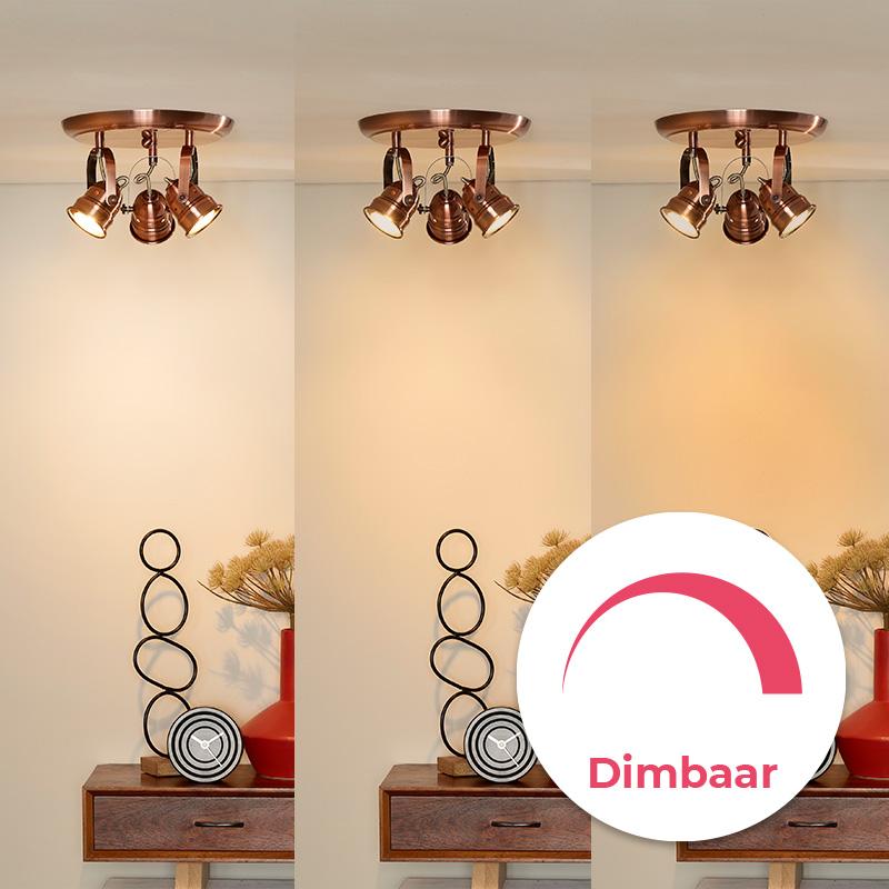 Dim to warm GU10 LED lampen