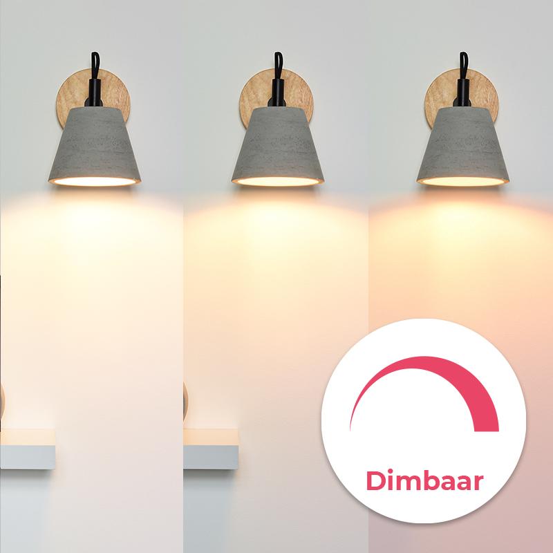 Dim to warm filament lampen