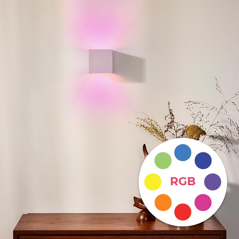 Verstelbare lichtkleur RGB (alle kleuren)